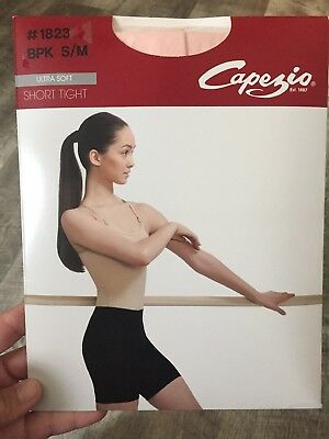 Capezio - Ballet Pink Short tights - #1823 - S/M and L/XL available