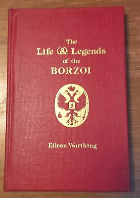The Life And Legends Of The Borzoi ~   1977 Dog Book