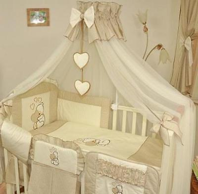 NEW! Baby Canopy/Mosquito Net Fits Cot/Cot Bed 485 cm Width Cover 4 sides US