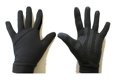 New Football Outfield/Field Player Thermal Fleece Lined grip Gloves Senior/Mens