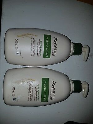 Aveeno cream x2 500ml