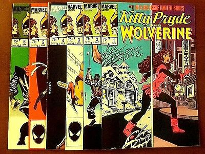 Kitty Pryde and Wolverine Comic Complete Set 1984 1 2 3 4 5 6 Full Run Lot X-Men