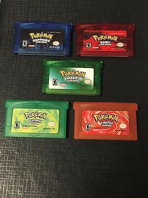 Pokemon Game Boy Advance GBA SP DS Games NEW [Reproduction] YOU PICK