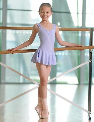 2043# Ballet tricot top with Skirt, Sleeveless Lycra Model EMILIE