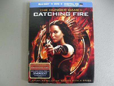 The Hunger Games Catching Fire Blu Ray DVD 2 Disc Set Factory Sealed