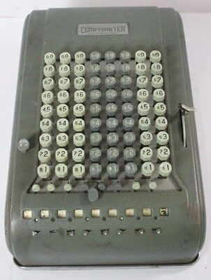 Vintage Felt and Tarrant Comptometer Adding Machine Working Condition