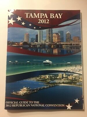 2012 Republican National Convention Official Guide Mitt Romney Paul Ryan Tampa