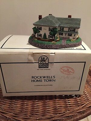 ROCKWELL RESIDENCE (STRUCTURE) #82281--Hometown Collection NIB
