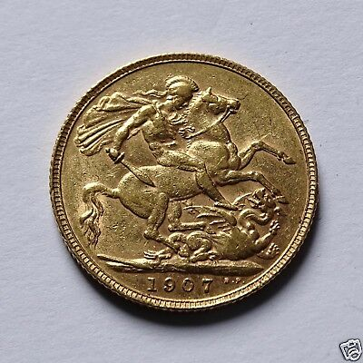 1907 Edward  Vii  Full Sovereign
