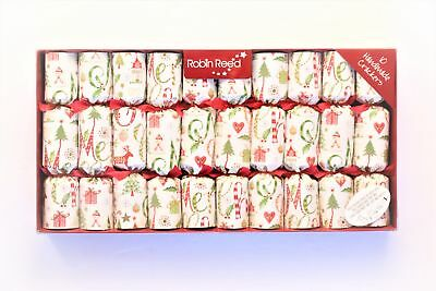 Robin Reed H7 New Year Holiday 10pc Party Crackers – Christmas Icons 41710