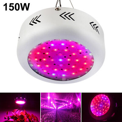150W Full spectrum UFO LED Grow Light for Pflanze Beleuchtung Wachstumslampe EU