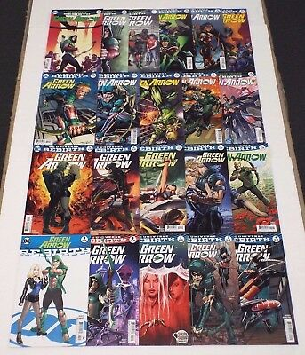 Green Arrow Rebirth Special & Issues #1-20 Lot/Set/Collection / DC Comics