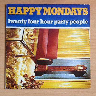 "Happy Mondays ‎– 24 Hour Party People Vinyl, 12"",  FAC 192  NOT pressed at MPO"