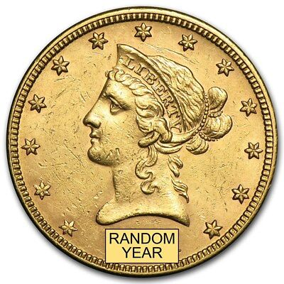 SPECIAL PRICE!  $10 Liberty Gold Eagle AU (Random Year) - SKU #155346