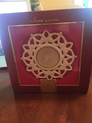 Lenox Snowflake Tea Light - New