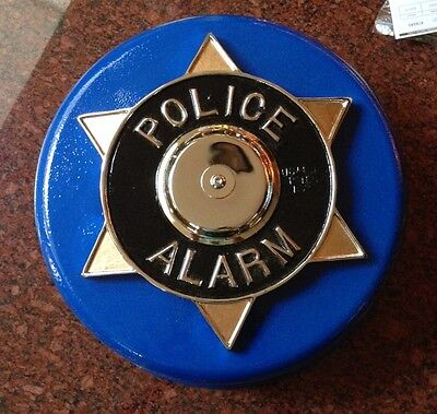 Antique POLICE ALARM Bank Building Holdup / Burglar Alarm 1938