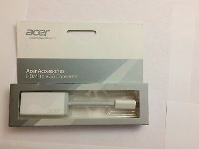 Acer HDMI (micro type d) to VGA adapter np.oth11.004 converter