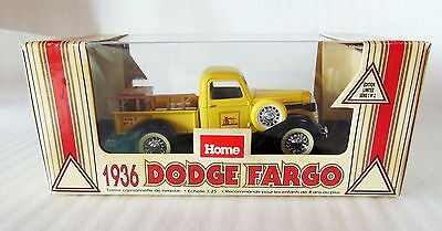 Home Hardware 1936 Dodge Fargo Pickup Truck Series 3 No 1 Coin Bank 1:25 - New