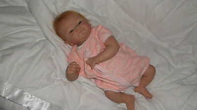 "Red Haired Reborn Doll ""Coco Malu"" by Elisa Marx"