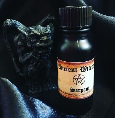 Serpent ™ Hex Jinx Curse Black Magick Witchcraft Candle Dressing Alchemy Oil