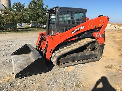 2011 Kubota SVL90 Track Skid Loader   New Tracks VIDEO  financing Available