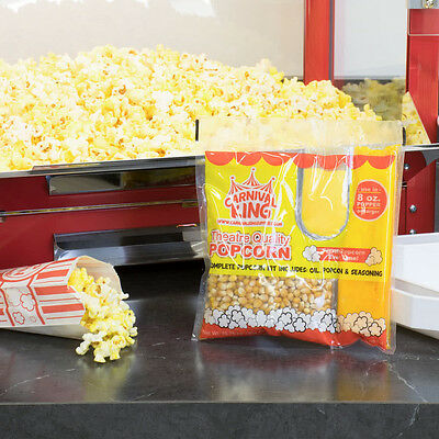 Carnival King All-In-One Popcorn Kit ~ For Use In Poppers 8 oz or Larger