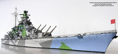 JSC 075 - Super Battleship H-39 Greater Germany Without / with Lasercut Parts