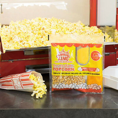 Carnival King All-In-One Popcorn Kit ~ For Use In Poppers 4 oz or Larger