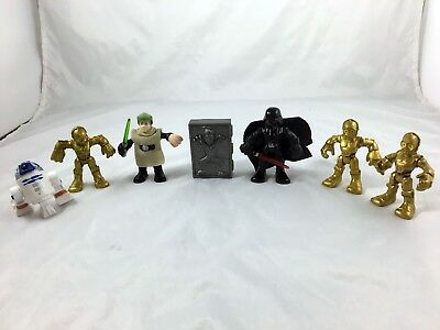 Lot 7 Star Wars - Galactic Heroes - Imaginext - Figures - B6