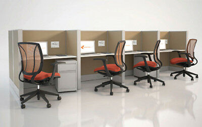 Office Furniture Cubicles Work Station Partition Desk Computer Chairs Cabinets