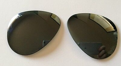Ray-Ban RB 3025 G15 Green Sunglass Replacement Lenses 58mm Silver Mirror