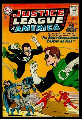 DC Comics JUSTICE LEAGUE of AMERICA #30 Justice Society Crime Syndicate FN- 5.5