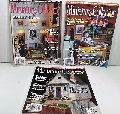 Miniature Collector Magazines Dollmaking Peggy Nisbet