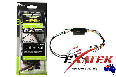 AERPRO APUNISWC UNIVERSAL STEERING WHEEL CONTROL INTERFACE For BA BF FALCON