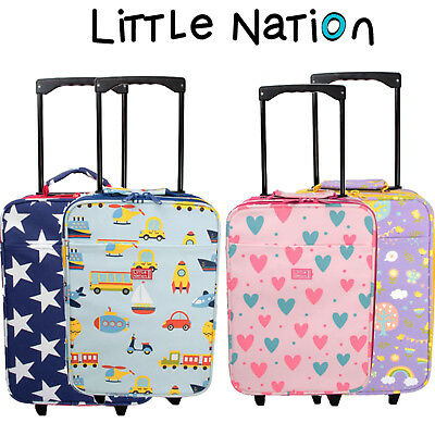 Little Nation Kids Travel Hand Luggage, Children's Suitcase, Overnight bag