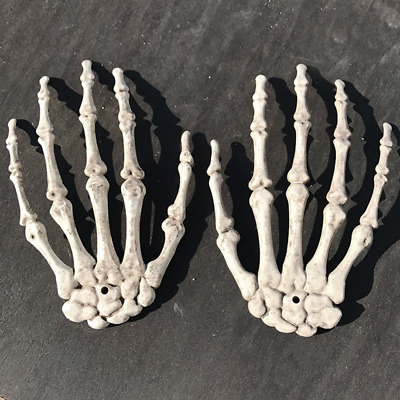 Halloween Skull Skeleton Human Hand Bone Zombie Party Terror Adult Scary Props