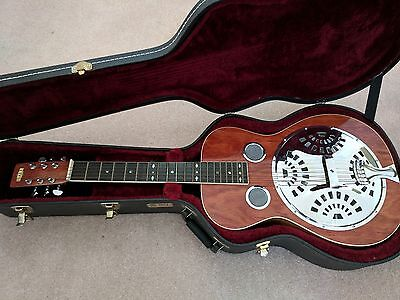 Hall resonator guitar