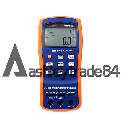 New TH2822D Protable Handheld LCR Bridge 100Hz-10kHz Frequency