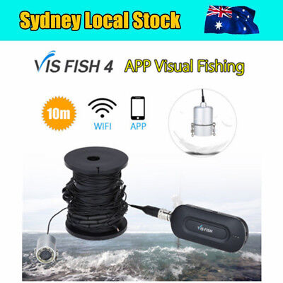 Eyoyo 10M Cable Fishing Finder Camera Underwater Wirless APP for Android & Ios