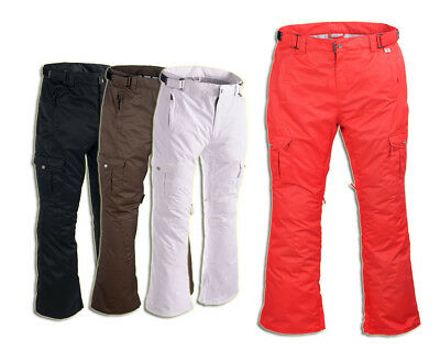 PERYSHER Quality Womens Ski / Snowboard Pants (4 Stylish Color Choices)
