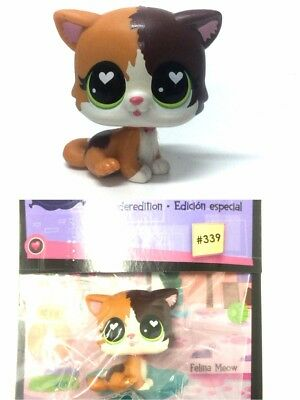 Special Edition Littlest Pet Shop Felina Meow #339 Hasbro LPS Figure Toy Doll