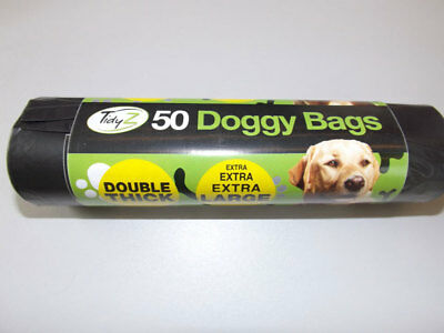 Tidyz Double Thick Doggy Bags Roll of 50