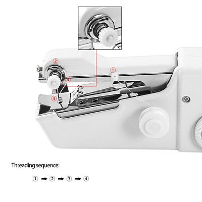 Mini Portable Household Electric Handheld Sewing Machine Battery Powered AH