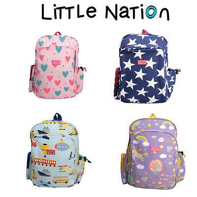 Little Nation Kids School Backpack, Children's Toddler Bag, Overnight travel bag