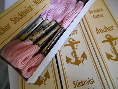 Anchor Embroidery Thread - Sticktwist Mouline - 100% Cotton -15 Colours - Sale