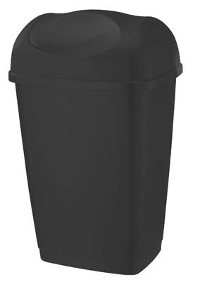 Tontarelli Swing Top Bin 50L Black