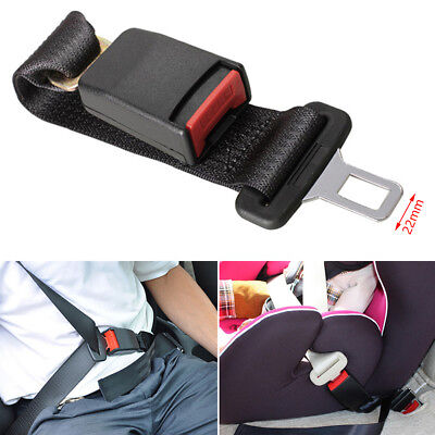 36cm Adjustable Auto Car Seat Belt Extension Extender Safety Support Buckles Kid