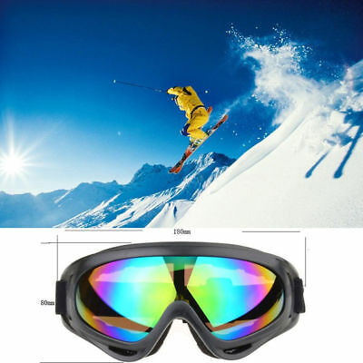 Ski Goggles Anti fog UV Snow Snowboard Cycling Sunglasses Glasses Adjustable