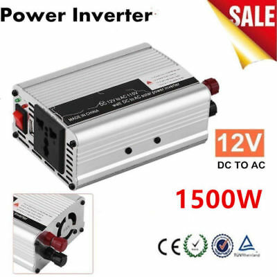 3000W DC 12V to AC 110V Car Power Inverter Charger Converter for Electronic HP
