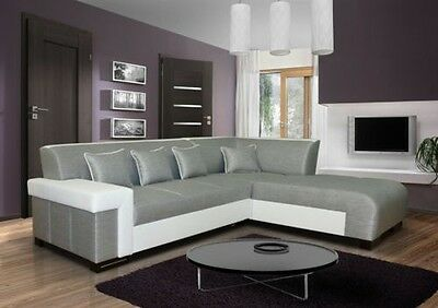 Interior Design Shine Corner Couch with Bed Function Sleep Sofa 01583